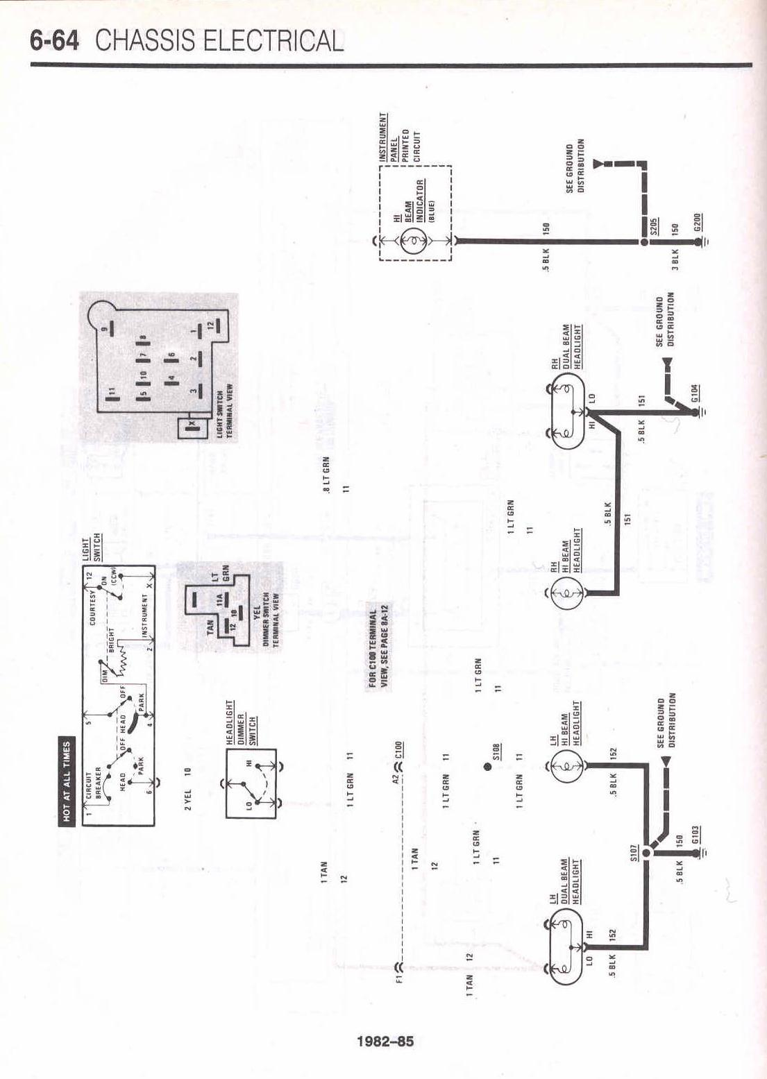 68 camaro headlight wiring diagram 85 camaro headlight wiring diagram car info